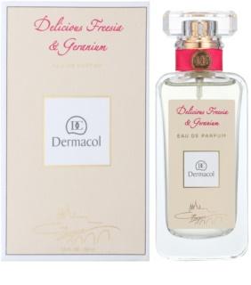 Dermacol Delicious Freesia & Geranium Eau de Parfum für Damen 50 ml