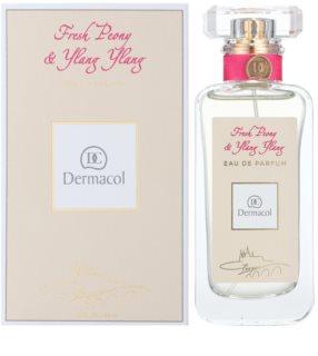 Dermacol Fresh Peony & Ylang Ylang Eau de Parfum für Damen 50 ml