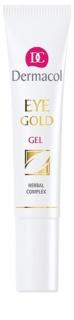 Dermacol Gold gel rafraîchissant anti-poches et anti-cernes