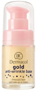 Dermacol Gold Make-up-Grundlage gegen Falten
