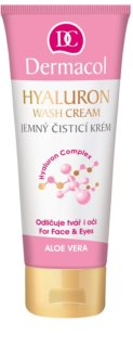 Dermacol Hyaluron Gentle Cream Cleanser for Face and Eyes