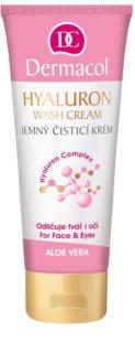 Dermacol Hyaluron jemný čisticí krém na obličej a oči