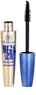 Dermacol Mega Lashes Waterproof Mascara For Volume