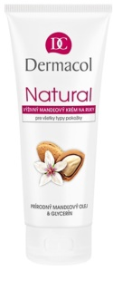Dermacol Natural Nourishing Almond Cream for Hands and Nails