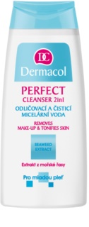 Dermacol Perfect мицеларна почистваща вода за млада кожа
