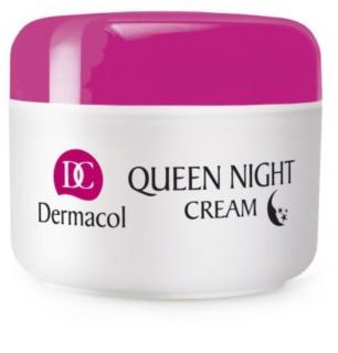 Dermacol Dry Skin Program Queen Night Cream Uppstramande nattkräm  för torr och mycket torr hud
