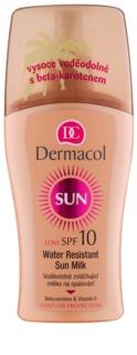 Dermacol Sun Water Resistant vodeodolné mlieko na opaľovanie SPF 10