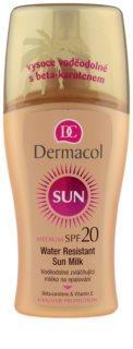 Dermacol Sun Water Resistant vodootporno mlijeko za sunčanje SPF 20