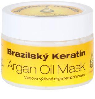 Dermagen Brazil Keratin Argan Oil mascarilla nutritiva regeneradora para todo tipo de cabello