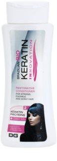 Dermagen Brazil Keratin Innovation odżywka wzmacniająca do włosów farbowanych i zniszczonych