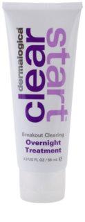 Dermalogica Clear Start Breakout Clearing нощна грижа против акне и зачервяване на кожата