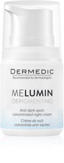 Dermedic Melumin  κρέμα νύχτας για την αντιμετώπιση  των μαύρων κηλίδων