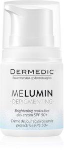 Dermedic Melumin  crème éclaircissante anti-taches pigmentaires SPF 50+