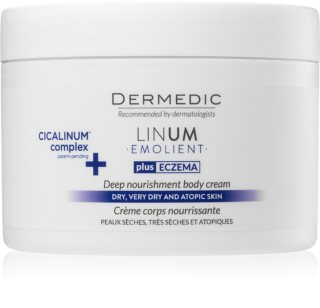 Dermedic Linum Emolient creme corporal nutritivo for dry to sensitive skin