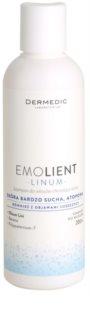 Dermedic Linum Emolient champô apaziguador para couro cabeludo sensíve