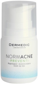 Dermedic Normacne Preventi Night Regulating And Cleansing Cream