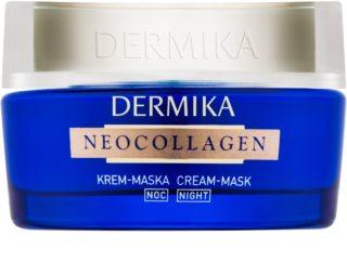 Dermika Neocollagen нощна маска-крем за регенериране на кожата и намаляване на бръчките