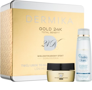 Dermika Gold 24k Total Benefit καλλυντικό σετ II.
