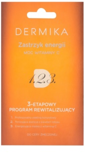 Dermika 1. 2. 3. 3-Phase Revitalising Treatment for Tired Skin