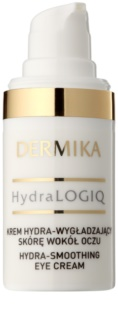 Dermika HydraLOGIQ розгладжуючий крем для очей 30+