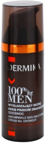 Dermika 100% for Men crema anti-rid pentru netezire 40+