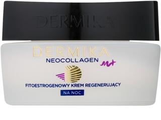 Dermika Neocollagen M+ Regenerierende Nachtcreme mit Phytoöstrogenen