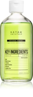 Detox Skinfood Key Ingredients água micelar refrescante