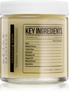 Detox Skinfood Key Ingredients baume purifiant