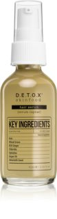 Detox Skinfood Key Ingredients sérum capilar sérum de cabelo
