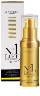Di Angelo Cosmetics No1 Lift creme de olhos para alisamento instantaneo das rugas