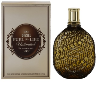 Diesel Fuel for Life Femme Unlimited Eau de Parfum für Damen 50 ml