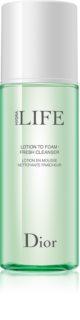 Dior Hydra Life Lotion To Foam освежаваща почистваща пяна за всички типове кожа на лицето