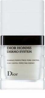 Dior Dior Homme Dermo System матираща есенция за лице за намаляване на порите