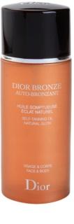 Dior Dior Bronze Auto-Bronzant samoopalovací olej na obličej a tělo