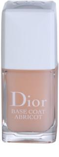Dior Base Coat Abricot verniz pré-base para unhas
