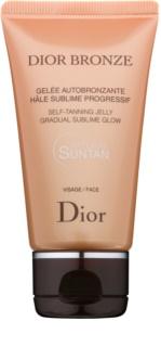 Dior Dior Bronze samoopalovací gel na obličej