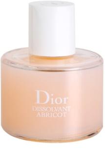 Dior Dissolvant Abricot dissolvant sans acétone