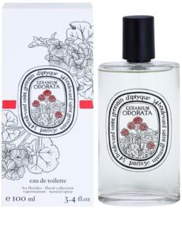 Diptyque Geranium Odorata Eau de Toilette unissexo 100 ml