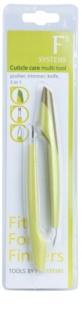 Diva & Nice Cosmetics Accessories outil multifonctionnel pour soin des cuticules 3 en 1