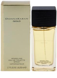 DKNY Gold Sparkling Eau de Toilette pentru femei 50 ml
