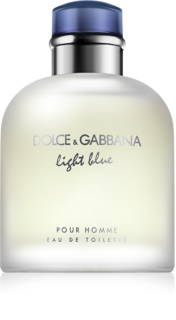 Dolce & Gabbana Light Blue Pour Homme Eau de Toilette für Herren 125 ml