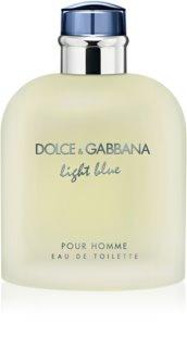 Dolce & Gabbana Light Blue Pour Homme toaletní voda pro muže 200 ml