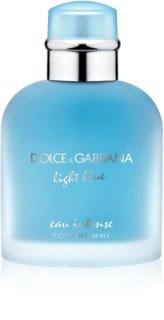 Dolce & Gabbana Light Blue Pour Homme Eau Intense Eau de Parfum for Men 100 ml