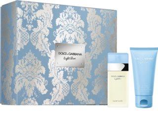 Dolce & Gabbana Light Blue coffret cadeau III. pour femme