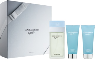 Dolce & Gabbana Light Blue coffret VI.