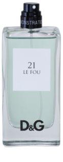 Dolce & Gabbana D&G Anthology Le Fou 21 тоалетна вода тестер за мъже 100 мл.