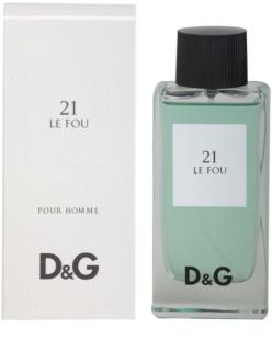 Dolce & Gabbana D&G Anthology Le Fou 21 toaletna voda za muškarce 100 ml