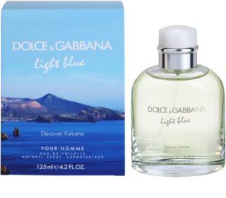 Dolce & Gabbana Light Blue Discover Vulcano Pour Homme туалетна вода для чоловіків 125 мл