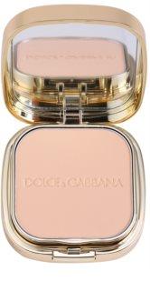 Dolce & Gabbana The Foundation Perfect Matte Powder Foundation matující pudrový make-up se zrcátkem a aplikátorem