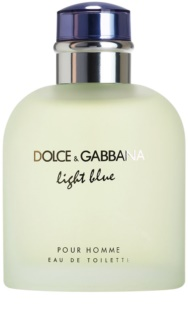 Dolce & Gabbana Light Blue Pour Homme туалетна вода тестер для чоловіків 125 мл